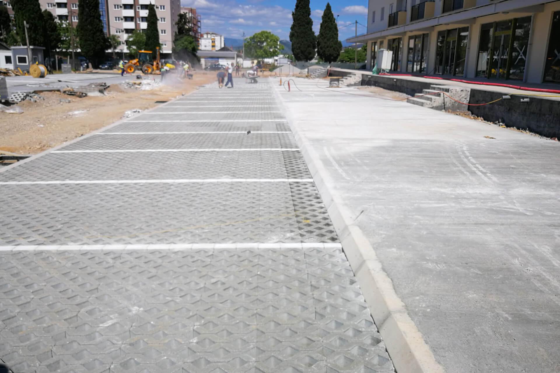 """Izgradnja saobraćajnice sa parkinzima u zahvatu DUP-a """"Blok 35-36"""""""